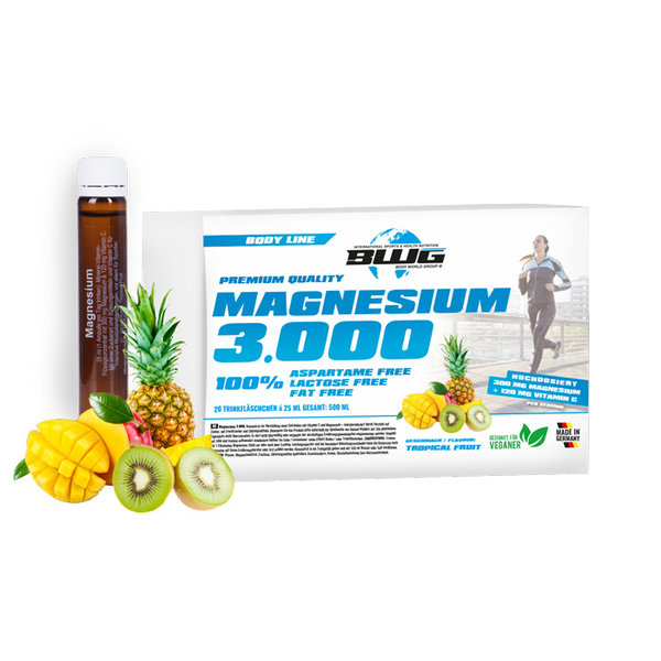 BWG Magnesium 3000 - 20 ампули